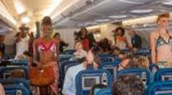 Air Caraïbes Fashion Week : le défilé de mode dans un avion !