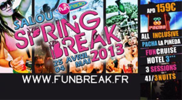 SPRING BREAK 2013 By FUNBREAK