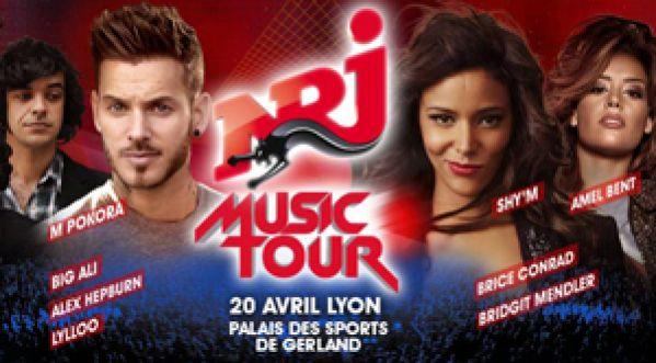 Gagne tes places pour NRJ MUSIC TOUR de LYON le 20 avril
