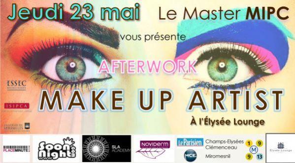 Afterwork Make Up Artist à L'elysée Lounge