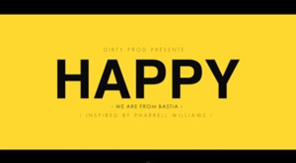 Pharrell Williams - Happy ( We Are From Bastia ) Corsica