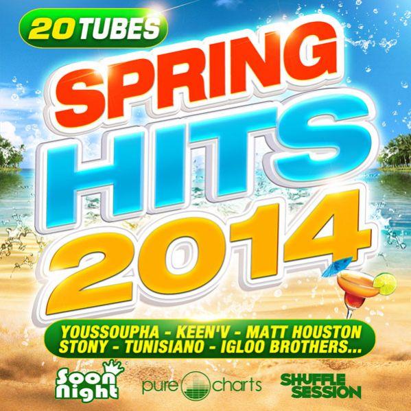 Spring Hits 2014:  Disponible En Téléchargement & En Streaming Sur Toutes Les Plateformes !