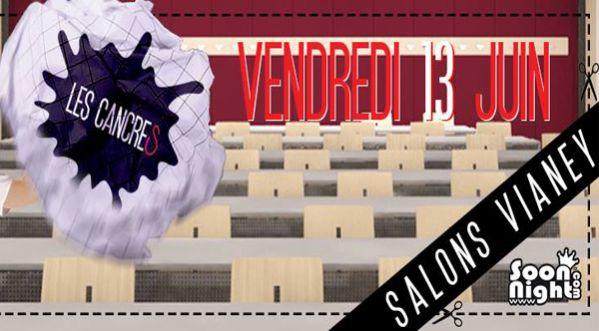 Les cancres d barquent aux salons vianey le vendredi 13 juin for Les salons vianey