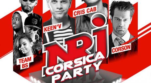 NRJ Corsica Party le 28 juin 2014 à Bastia !