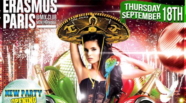 Mexico Independence Party Jeudi 18 Septembre Au Mix Club !