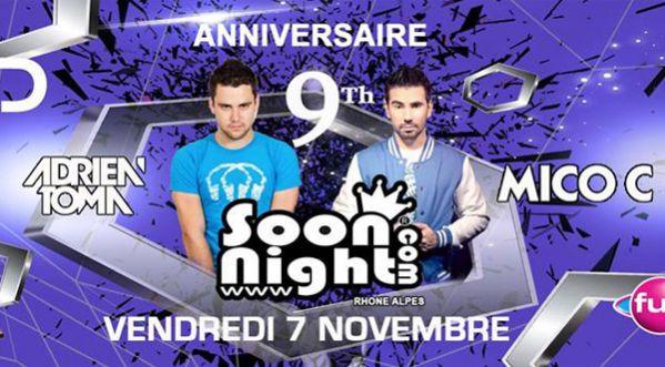 Les 9 Ans De Soonnight Lyon Au Cesar Palace (grenay) Le 07 Novembre 2014