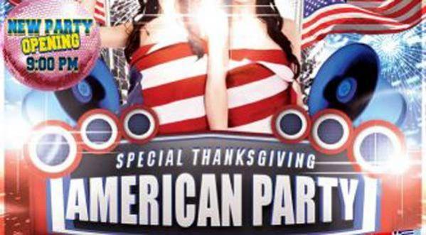 Erasmus Paris speciale American Thanksgiving Party au Mix Club ce jeudi !
