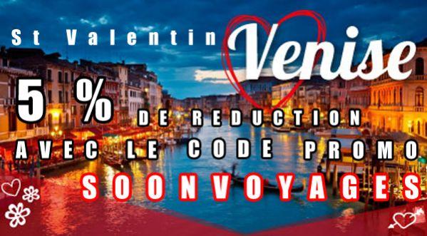 Partez à La Découverte De Venise En Profitant De 5% De Réduction – Séjour Spécial St-valentin