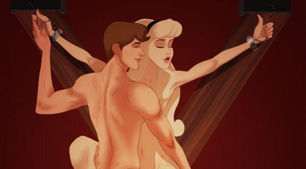 Grâce à « 50 Nuances de Grey », les couples de Disney se lâchent enfin !