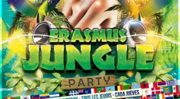 Erasmus Jungle Au Mix Club Ce Jeudi, Gratuit* Avec Soonnight !