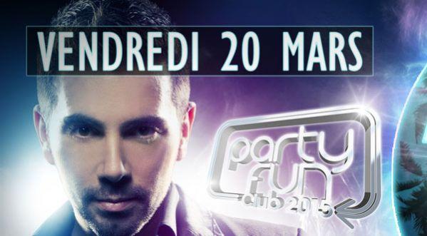 Party Fun Club 2015 à L'o2 Paris - Gagnez Votre Table !