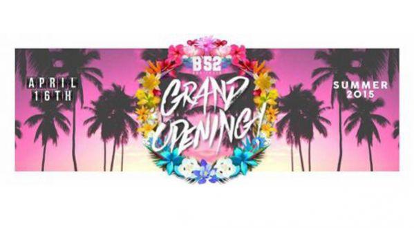 Jeudi 16 Avril Grand Opening Du B'52 Bonifacio