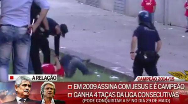 La Police Portugaise : Un Père Se Fait Battre Violemment Devant Son Fils !