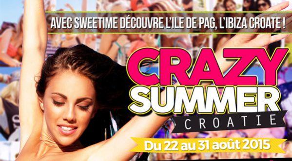 Crazy Summer Du 22 Au 31 Aout En Croatie