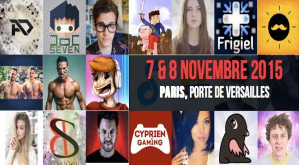 Vidéo City Paris, le 1er festival en France des créateurs de vidéos du web à Paris