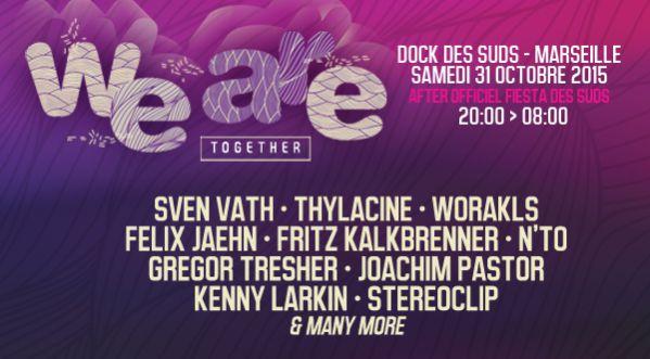 Festival Weare Together! Au Dock Des Suds (marseille) Le 31/10/15