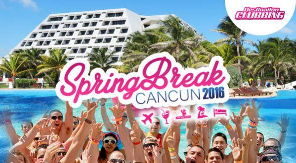 Spring Break à Cancun