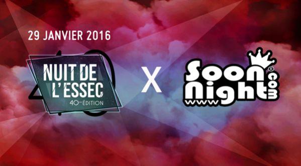 Ce vendredi : la 40ème édition de La Nuit de l'ESSEC le 29 janvier !
