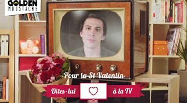 Pour La Saint Valentin, Déclarez Votre Flamme à La Tv !