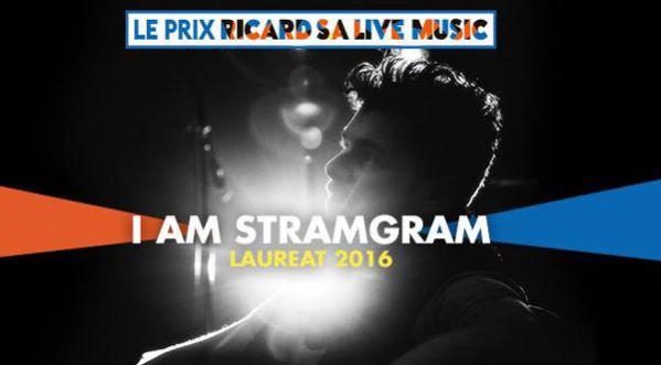 I Am Stramgram, Lauréat 2016 Du Prix Ricard S.a Live Music!