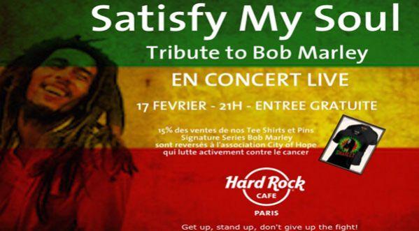 Bob Marley à L'honneur Au Hard Rock Cafe!