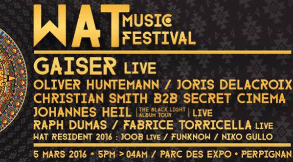 Le Wat Music Festival Est De Retour à Perpignan !
