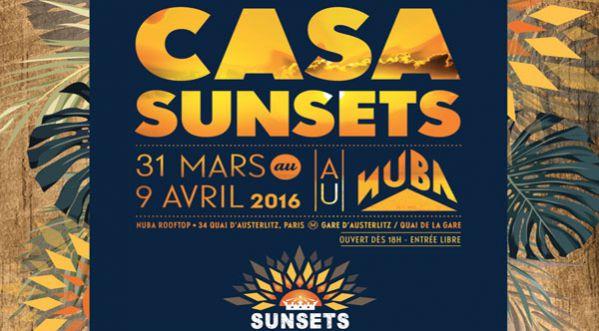 La Casa Sunsets S'installe Au NÜba Du 31 Mars Au 9 Avril!