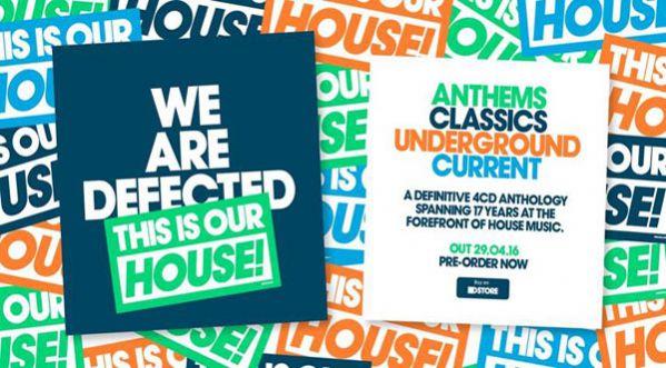 Defected Célèbre 17 Années à La Pointe De La House Music Avec Une Compilation D'anthologie!