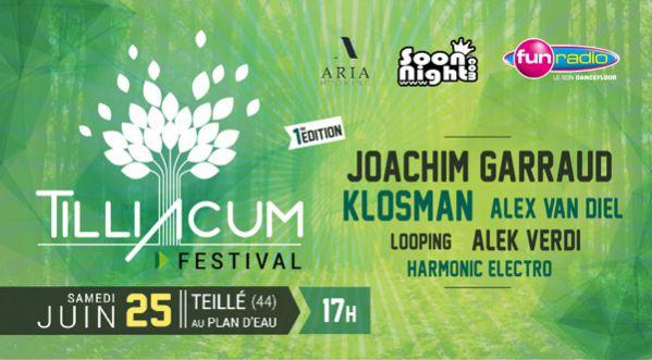 Gagnez Vos Places Pour Le Tilliacum Festival Avec Joachim Garraud, Klosman Le 25 Juin à Teillé (44)