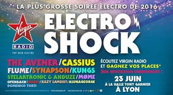 Soonnight T'offre Tes Places Pour L'édition Lyonnaise D'electroshock