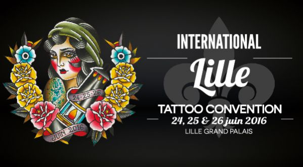 International Lille Tatoo Convention : 180 Artistes Réunis Du 24 Au 26 Juin !