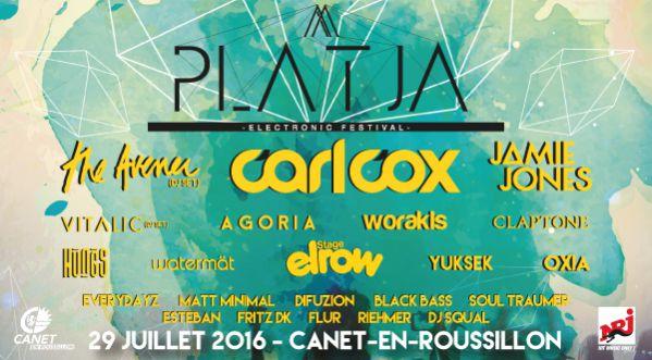 Le Platja Electronic Festival Est De Retour Le Vendredi 29 Juillet à Canet-en-roussillon