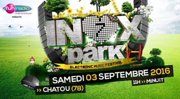 Concours : Gagne tes places pour le festival Inox Park Paris 7' le samedi 3 septembre à Chatou !