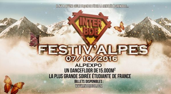 inter Bde Integration 2016 ★ Festiv'alpes Grenoble Electro ★ Rdv Vendredi 07 Octobre 2016