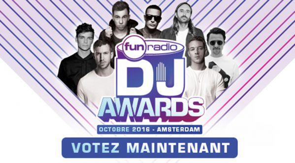 VOTEZ POUR LES FUN RADIO DJ AWARDS !