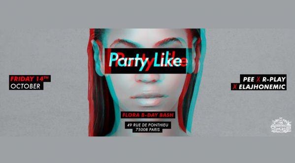 Party Like #bee Ce Vendredi 14 Octobre Chez Papillon !