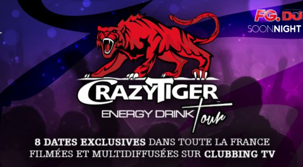 Crazy Tiger Engergy Drink Tour by Clubbing Tv
