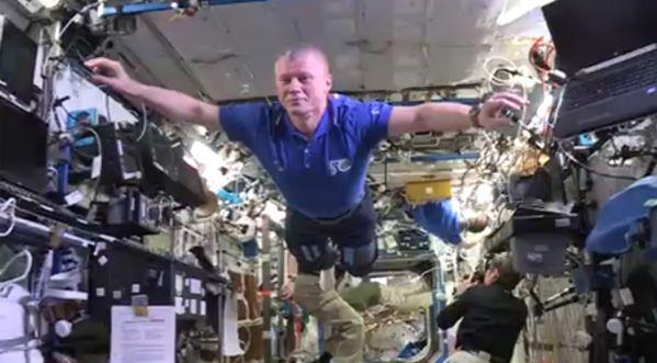 Un Mannequin Challenge au sein de l'ISS!