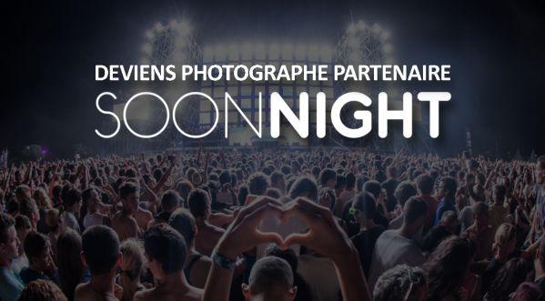Deviens Photographe Partenaire de SoonNight en Région Centre