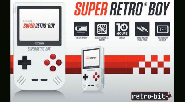 Super Retro Boy: La Game Boy nouvelle génération !