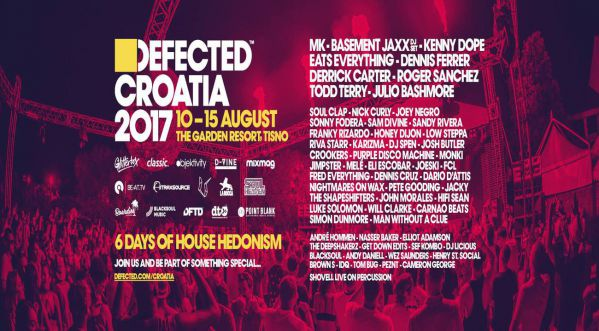 Defected Croatia announces full 2017 line-up