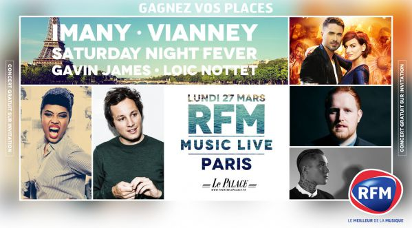 Soonnight T'invite Au Rfm Music Live à Paris