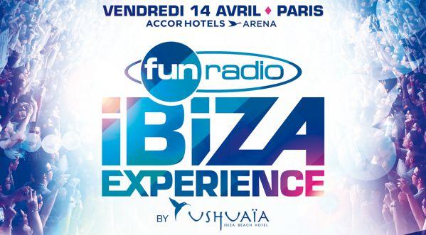 Participe au concours et gagne les dernières places pour Fun Radio Ibiza le 14/04 à AccorHotels Arena