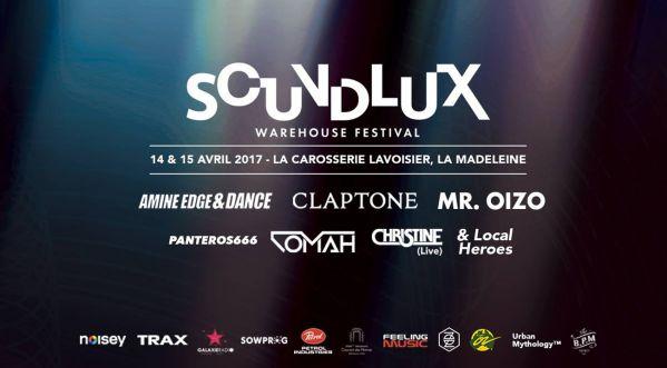 Première édition Du Soundlux Warehouse Festival Dans Un Hangar Près De Lille