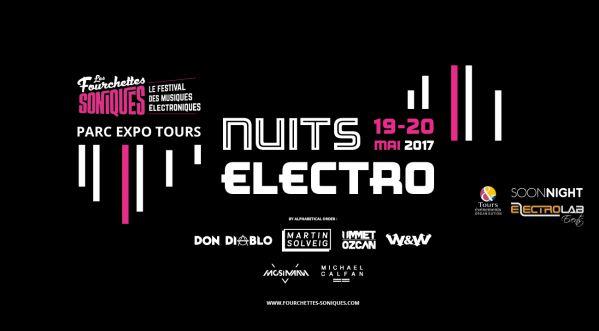 Gagnes tes places pour La Nuits Electro - Fourchettes Soniques | 19-20 MAI 2017