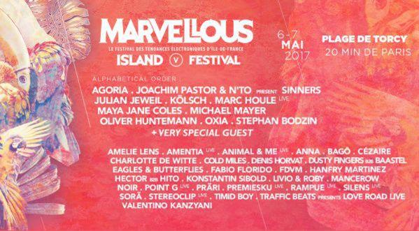 Concours Marvellous Island festival : Gagne tes places pour le dimanche 6 mai !