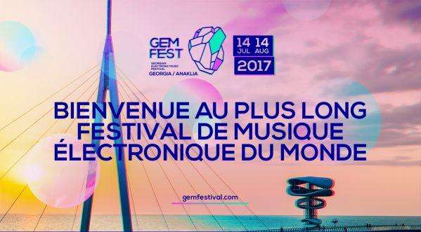 Le GEM FEST - Festival le plus long du monde !