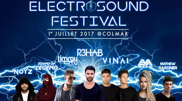 Gagnes tes places pour l'ElectroSound Festival le 1er juillet 2017 à Colmar