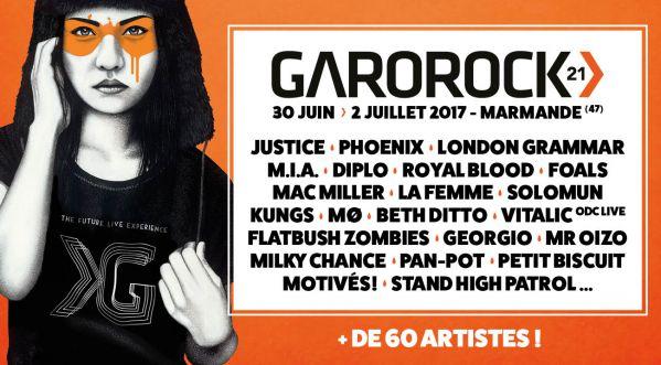 Concours : Gagne Tes Places Pour Le Garorock Festival !