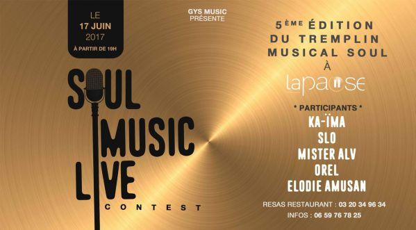 Soul Music Live Contest  - Le Samedi 17 Juin à La Pause